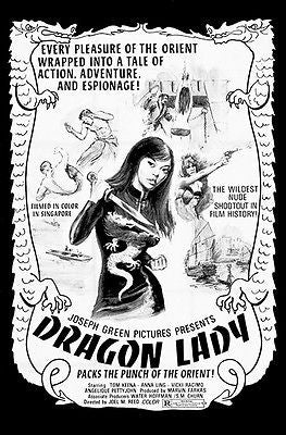 Dragon Lady - 1971 - Movie Poster