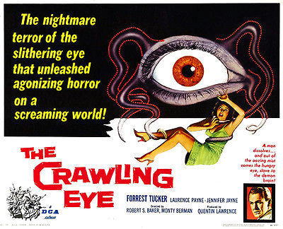 The Crawling Eye - 1958 - Movie Poster