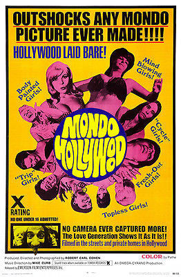 Mondo Hollywood - 1967 - Movie Poster