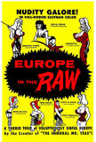 Europe in the Raw - 1963 - Movie Poster