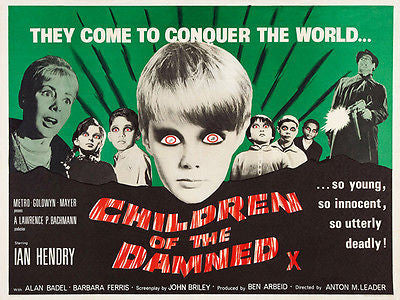 Children of the Damned - 1964 - Movie Poster