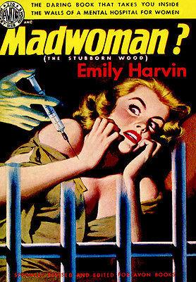 Madwoman? - 1951 - Pulp Novel Cover Magnet