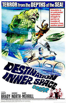 Destination Inner Space - 1966 - Movie Poster