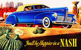 1940 Nash - Promotional Advertising Poster
