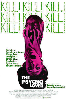 The Psycho Lover - 1970 - Movie Poster