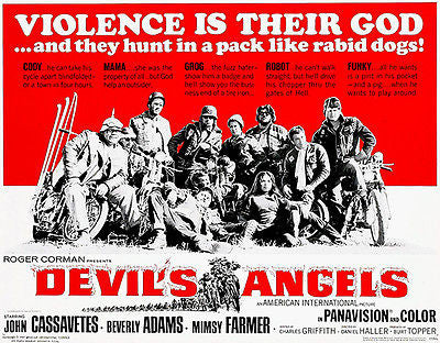 Devil's Angels - 1967 - Movie Poster