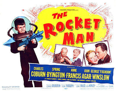 The Rocket Man - 1954 - Movie Poster
