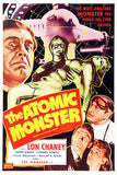The Atomic Monster - 1941 - Movie Poster