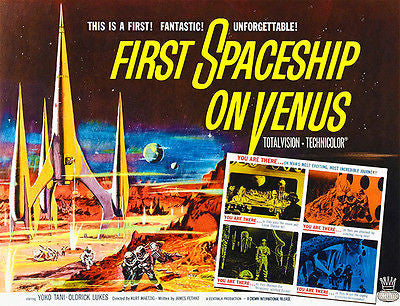 First Spaceship on Venus - 1960 - Movie Poster