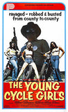 The Young Cycle Girls - 1978 - Movie Poster