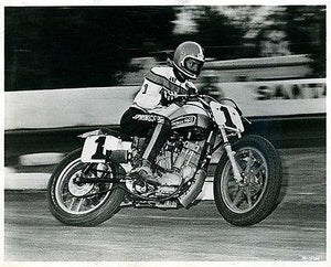 Jay Springsteen #1 - Harley-Davidson XR 750 Racing - Photo Magnet