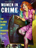 Women In Crime - January 1954 - Magazine Cover Poster