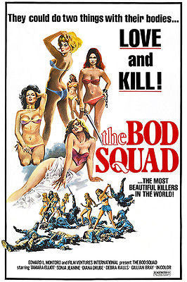The Bod Squad - 1974 - Movie Poster