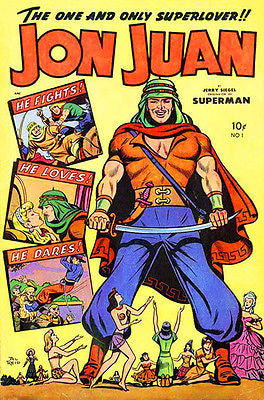 Jon Juan #1 - Spring 1950 - Comic Book Cover Poster