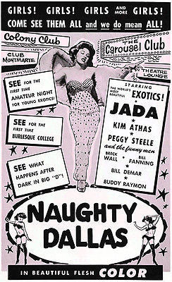 Naughty Dallas - 1964 - Movie Poster