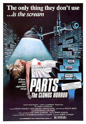 Parts: The Clonus Horror - 1979 - Movie Poster