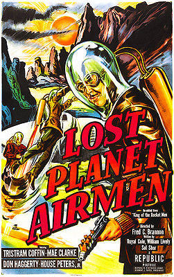 Lost Planet Airmen - 1951 - Movie Poster