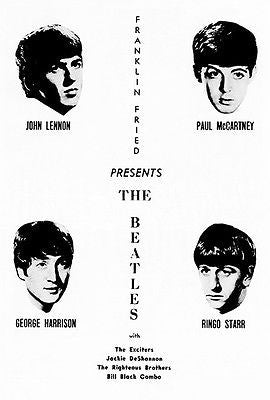 The Beatles - 1964 - Milwaukee Concert Program Cover Poster #2