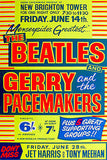 The Beatles - Gerry and the Pacemakers - 1963 - Concert Poster