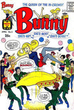 BUNNY #2 - Comic Book Cover Poster - 1966 - She's Hip She's Mod She's BOSS