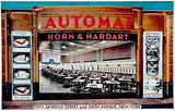 Horn and Hardart Automat - New York - 1941 - Vintage Postcard Poster