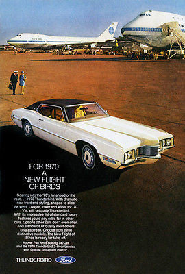 1970 Ford Thunderbird - Promotional Advertising Poster