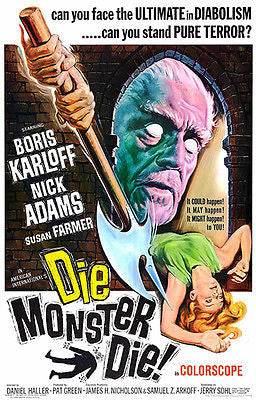 Die Monster Die! - 1965 - Movie Poster