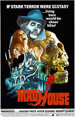 Madhouse - 1974 - Movie Poster
