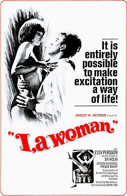 I, A Woman - 1965 - Movie Poster
