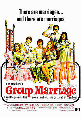 Group Marriage - 1973 - Movie Poster