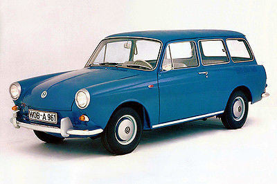 1961 Volkswagen 1500 Type 3 Variant - Photo Poster