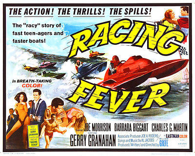 Racing Fever - 1964 - Movie Poster