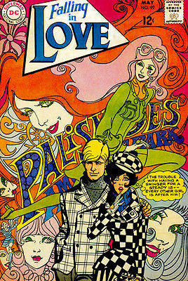 Falling In Love #99 - 1968 -  Comic Book Cover Poster