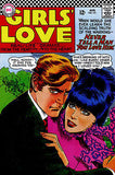 Girls' Love Stories #121 - August 1966 - Comic Book Cover Poster