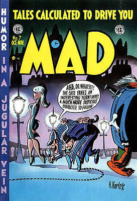 MAD Magazine #7 - October / November 1953 - Cover Poster