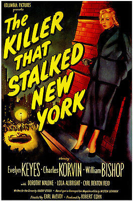 The Killer That Stalked New York - 1950 - Movie Poster