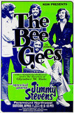 The Bee Gees - Jimmy Stevens - 1973 - Concert Poster