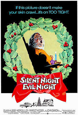 Silent Night Evil Night - 1974 - Movie Poster