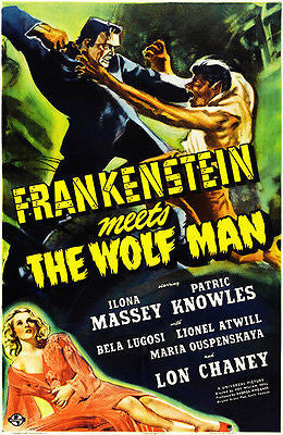 Frankenstein Meets the Wolfman - 1943 - Movie Poster