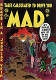 MAD Magazine #8 - December / January 1953 Cover Poster