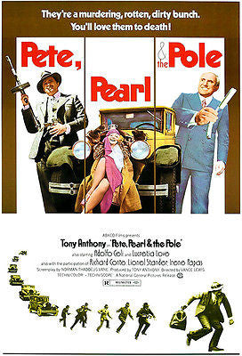 Pete, Pearl & The Pole - 1973 - Movie Poster