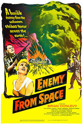 Enemy From Space - 1957 - Movie Poster