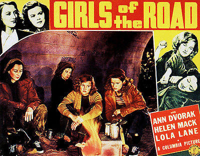 Girls Of The Road - 1940 - Movie Poster