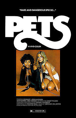 Pets - 1973 - Movie Poster