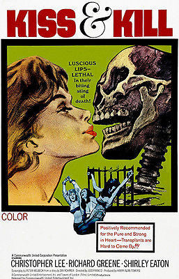 Kiss & Kill - 1968 - Movie Poster