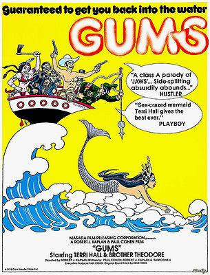 Gums - 1976 - Movie Poster Mug
