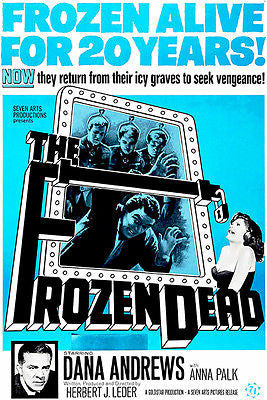 The Frozen Dead - 1966 - Movie Poster