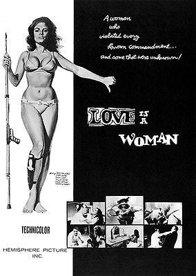 Love Is A Woman - 1966 - Movie Poster