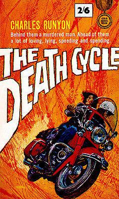 The Death Cycle - 1963 - Pulp Novel Cover Magnet
