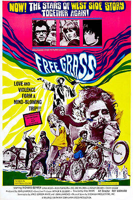Free Grass - 1969 - Movie Poster
